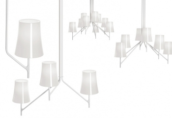 Designová závěsná svítidla Birdie Soffito