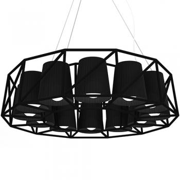 Designová závěsná svítidla Multilamp Ring