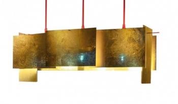 Designová závěsná svítidla 24 Karat Blau