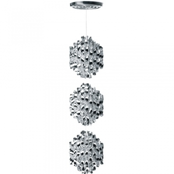 Designová závěsná svítidla Spiral Silver