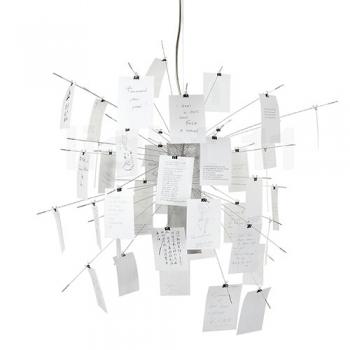 Designová závěsná svítidla Zettel´Z