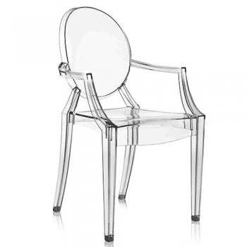 Designové zahradní židle KARTELL Louis Ghost