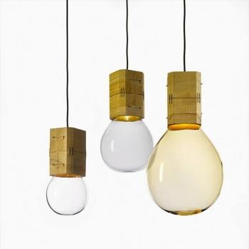 Designová závěsná svítidla Moulds