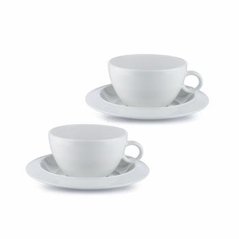 Designový Set 2 šálků na čaj BAVERO