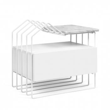 Designové odkládací stolky POP-UP-HOME Domi