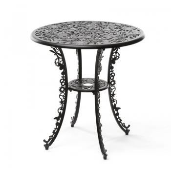Designové kavárenské stoly SELETTI Aluminium Table Industry Collection