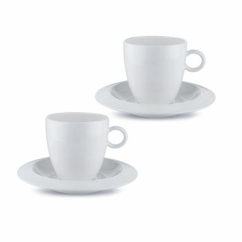 Designový Set 2 šálků na kávu BAVERO