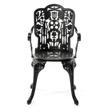 Designové židle SELETTI Aluminium Armchair Industry Collection