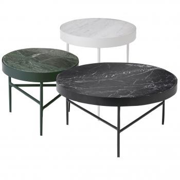 Designové odkládací stolky Marble table
