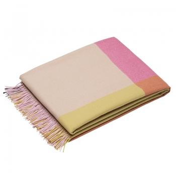 Designové plédy Colour Block Blanket