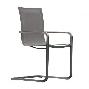 Designové zahradní židle Lux Canteliver