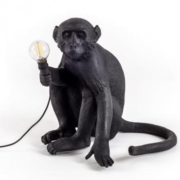 Designové dekoracní figurky / sochy SELETTI Monkey Sedící