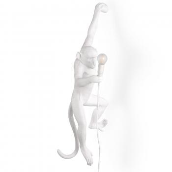 Designové dekoracní figurky / sochy SELETTI Monkey Wall