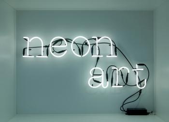 Designová nástěnná svítidla Neon Art