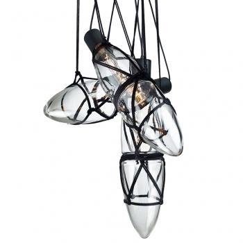 Designová závěsná svítidla Shibari