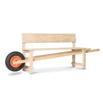 Designové lavice Wheelbench