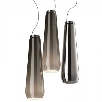 Designová závěsná svítidla Glass Drop Sospensione