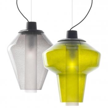 Designová závěsná svítidla Metal Glass Sospensione