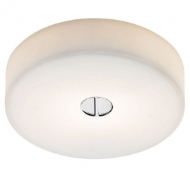Designová stropní a nástěnná svítidla Button C/W