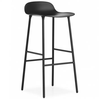 Designové barové židle Form Barstool Steel