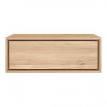 Designové odkládací stolky ETHNICRAFT Nordic Bedside Table Wall