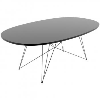 Designové jídelní stoly XZ3 oválné