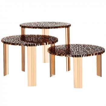 Designové odkládací stoly T-table