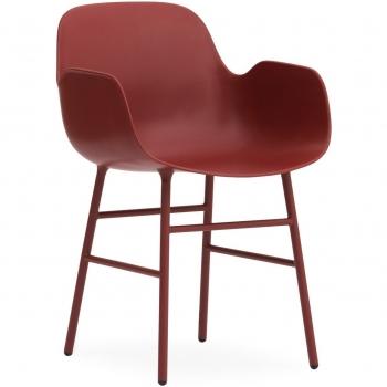 Designové židle Form Armchair Steel