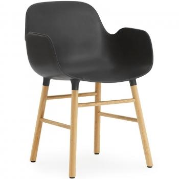 Designové židle Form Armchair Wood