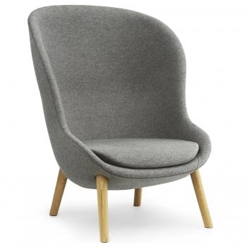 Designová křesla Hyg Lounge Chair High Wood