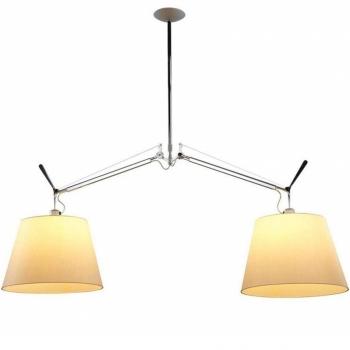 Designová závěsná svítidla Tolomeo Basculante Sospensione Due Bracci
