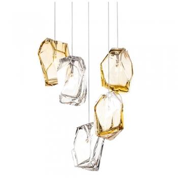 Designová závěsná svítidla Crystal Rock