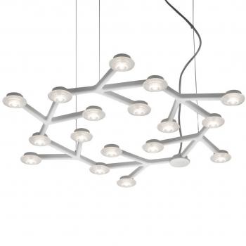 Designová závěsná svítidla Led Net Circle Sospensione