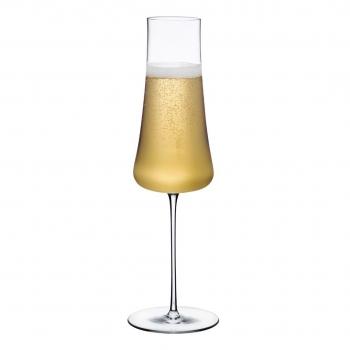 Designové sklenice na šampaňské Stem Zero