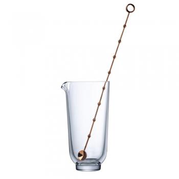 Designové sklenice na míchání s lžičkou Hepburn