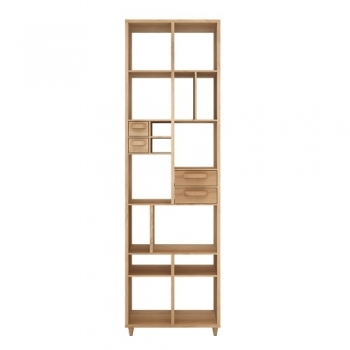 ETHNICRAFT regály Pirouette Bookrack
