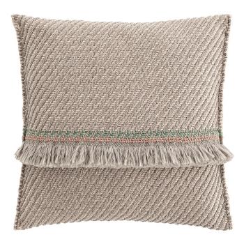 Designové polštáře GAN Garden Layers Big Cushion Terracotta