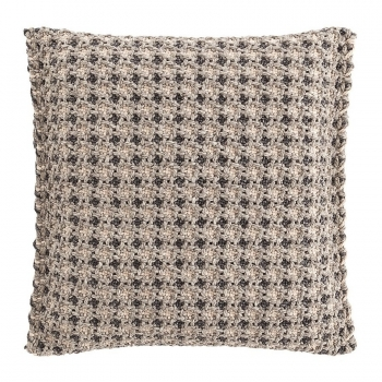 Designové polštáře GAN Garden Layers Small Cushion Terracotta Checks