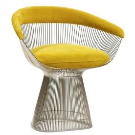 Designová křesla Platner Side Chair & Ottoman