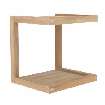 Designové odkládací stolky ETHNICRAFT Frame Table