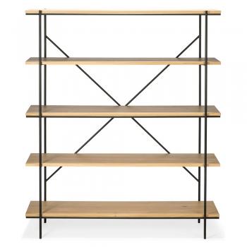Designové knihovny Rise Rack