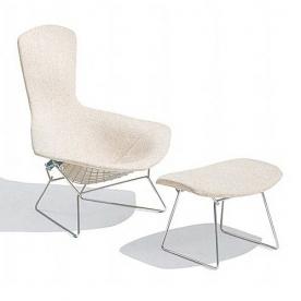 Designová křesla Bertoia Bird Lounge Chair