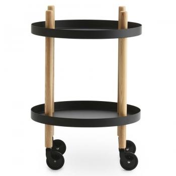 Designové servírovací stolky Block Table Round