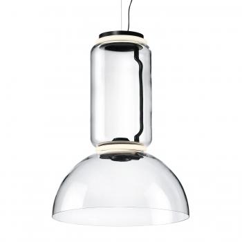 Designová závěsná svítidla Noctambule Suspension Low Cylinder Bowl