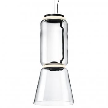 Designová závěsná svítidla Noctambule Suspension Low Cylinder Cone