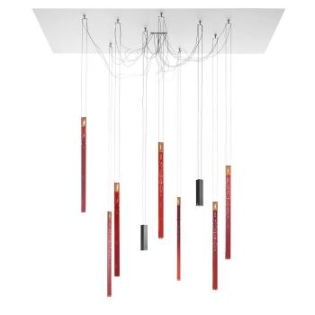 Designová závěsná svítidla Flying Flames