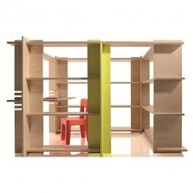 Designové dětské úložné prostory My First Office