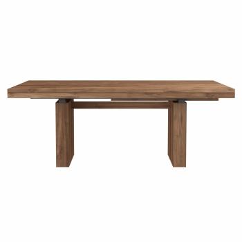 Designové jídelní stoly ETHNICRAFT Double Dining Table (200/300 x 100 cm)