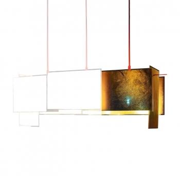 Designová závěsná svítidla 24 Karat Blau M