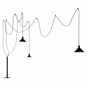 Designové stojací lampy Cerberina
